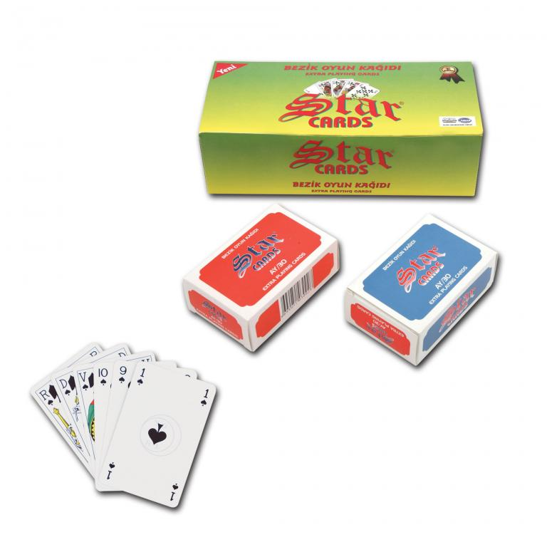 Star Bezique Playing Cards
