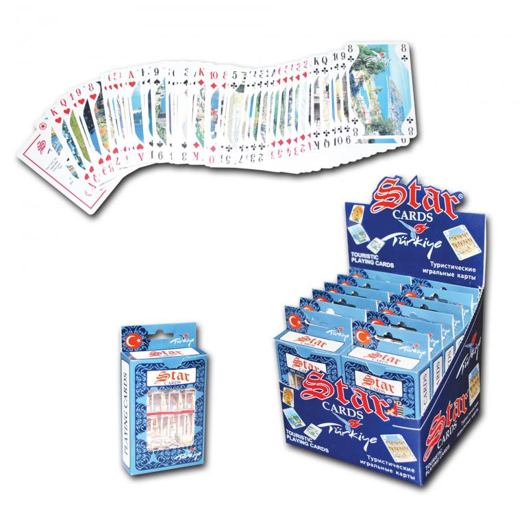 Star Touristic Playing Cards Turkey
